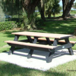 Standard picnic table 8ft at American Recycled Plastic Inc