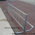 "Heartland Bicycle Rack 119"" Single"