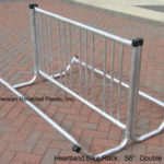 Heartland bicycle rack 56 long double sided