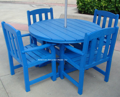 Seashore Recycled Plastic Dining Set