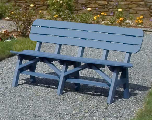 Portsmouth Dining Bench At American Recycled Plastic Outdoor Furniture