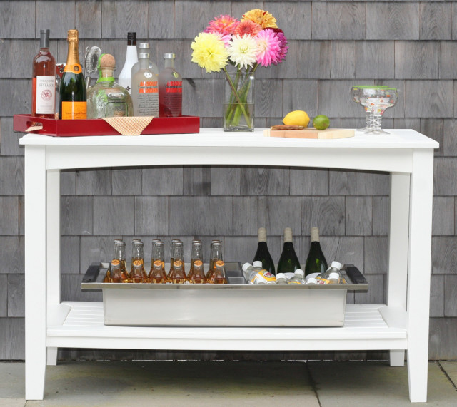 outdoor sideboard buffet table Patio Furniture: Buffet Tables   American Recycled Plastic  outdoor sideboard buffet table