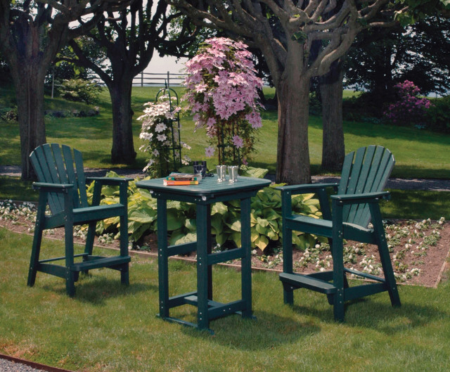 patio furniture  bar height chairs  adirondack