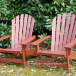 Shoreline Adirondack Chair,shown in Redwood. Available in your choice of 20 colors. Two-tone options are available on this item for a 10% upcharge. Lifetime residential warranty, 20 year commercial warranty. Stainless hardware.
