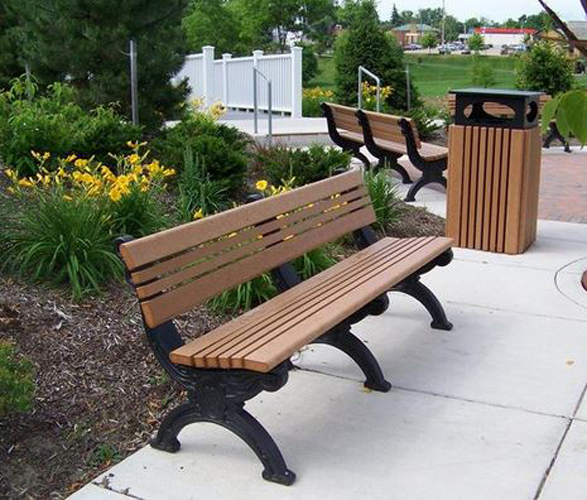 Hartford Park Bench Outdoor Patio Furniture At American