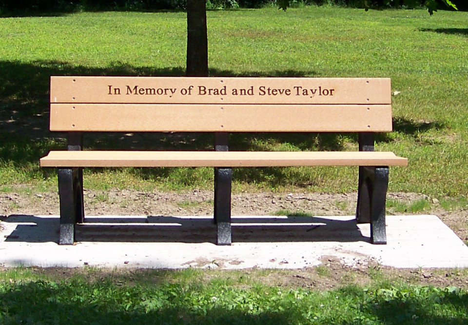 Personalized Memorial Bench 28 Images Forever Remembered Personalized Cast Stone Memorial
