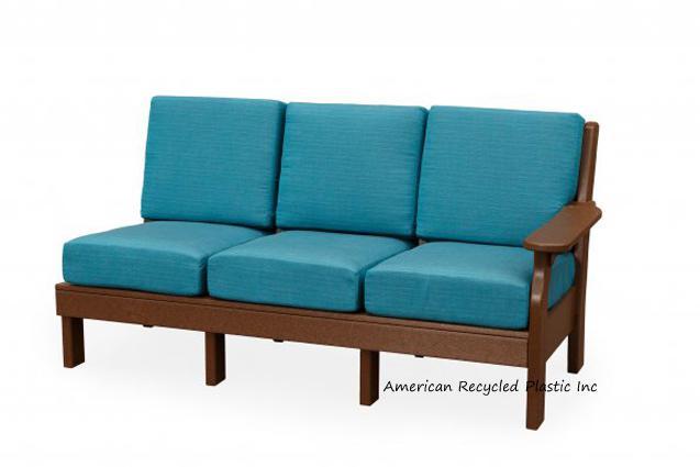 Van Buren Component Piece 7 Cushion Sofa Right Arm