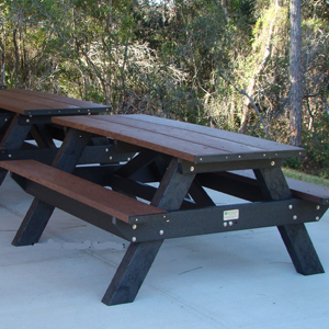 durable recycled plastic picnic table commercial home patio rh itsrecycled com