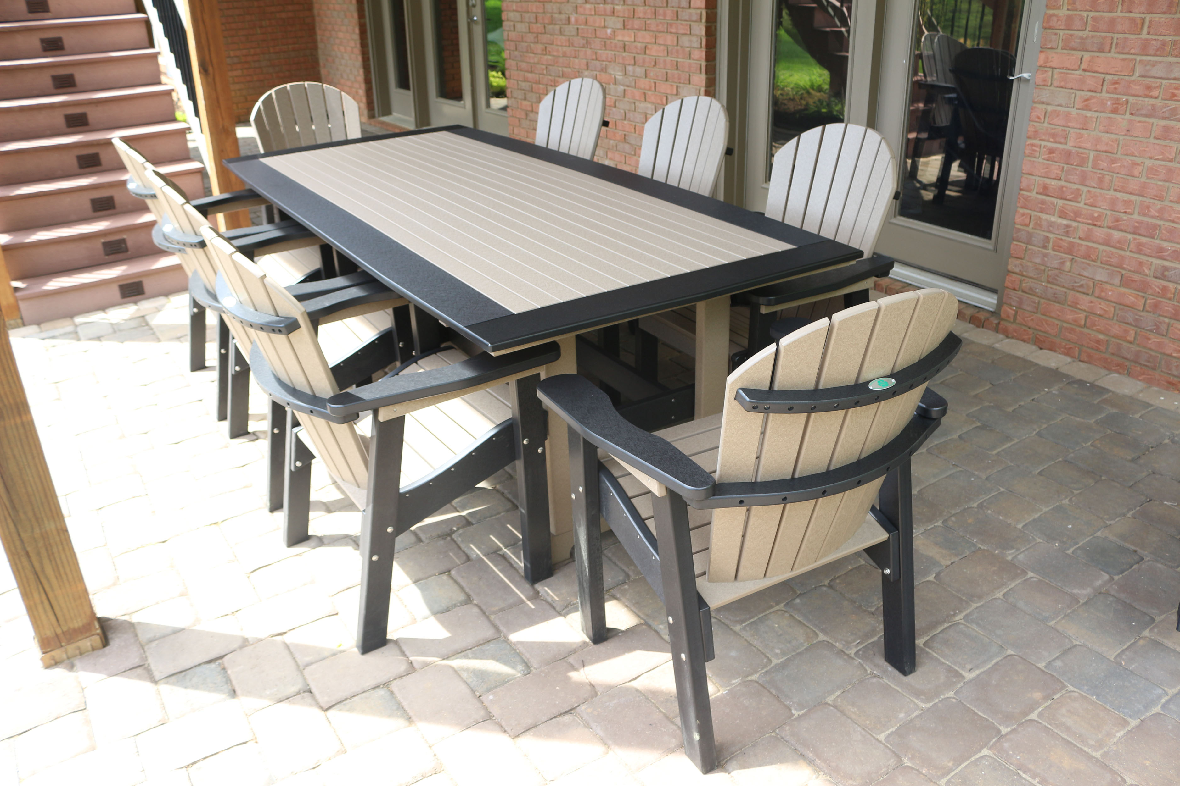 Dining Table American Recycled Plastic