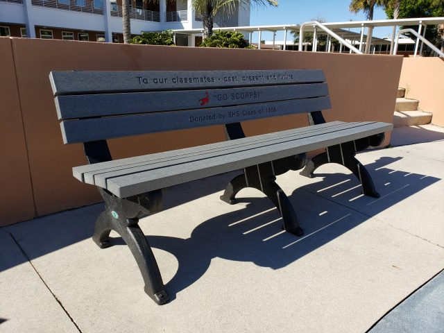 Adopt A Bench Donor Program For Memorial Benches